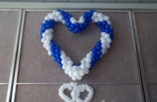 Balónové srdce