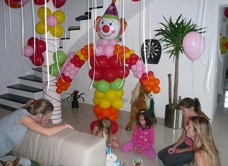 Balónová výzdoba na detské oslavy